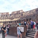 An awesome addition to our #joslinsteesaroundtheworld Photo album! Sherri-Lynn and her Joslin's Tee Shirt at the Colosseum in Italy!