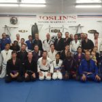The Joslin's BJJ Crew after a fun night of Brazilian Jiu Jitsu Training