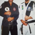 Rick and Jeff Joslin with the Canadian Open Belts