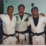 Jeff Joslin in Brazil with Alliance BJJ Blackbelts