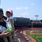 Chris brings his Joslin`s Tee to Fenway Park, Boston