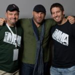 "Rick and Jeff Joslin with Randy ""The Natural"" Couture in Hamilton"