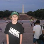 Ethan in Washington repping Joslin's MMA...
