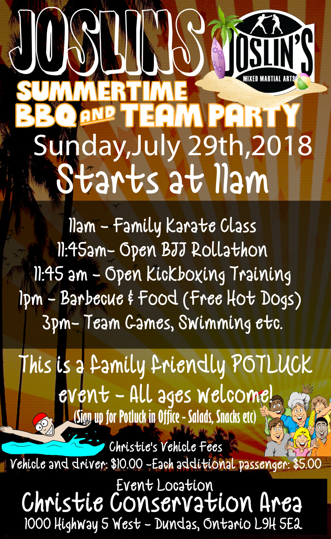 Joslin's Martial Arts Summer Party