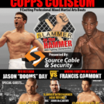 Jeff Joslin co-promotes the Slammer in the Hammer MMA Event in Hamilton