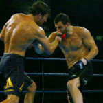 Jeff Joslin dishes out an uppercut against Jon Fitch at Freedom Fight MMA Championship
