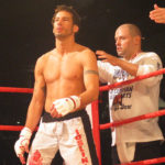 Hamilton fighter Joslin before winning the APEX fighting World Title
