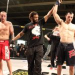 Ryan Dickson wins the XFC MMA title by chokehold
